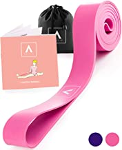 Stretch Band for Ballet and Gymnastics - Kids and Adults - Stretching Band for Dance, Flexibility, Cheerleading, Ice Skating, Yoga, Pilates + Exercise Booklet