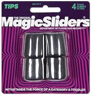 "Magic Sliders97377Rubber Leg Tip-4PK 7/8"" BLK RBR LEGTIP (並行輸入品)"