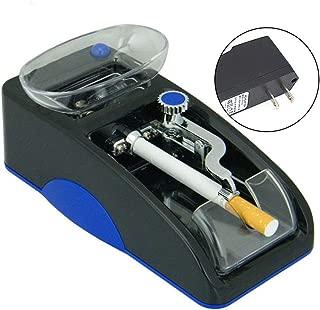 Oeyal Electric Cigarette Rolling Machine, Automatic Cigarette Injector Tobacco Roller Maker for Cigarette DIY (Blue)