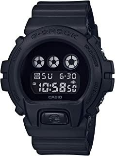 Casio Mens Digital Watch, Digital Display and Plastic Strap DW-6900BBA-1ER