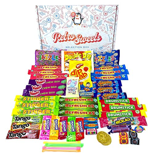 Retro Sweets Gift Box: Greedy Gw...