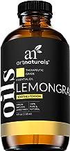 ArtNaturals Lemongrass Essential Oil 4oz - 100% Pure Therapeutic Grade - Premium Undiluted Lemon Grass Oil - for Diffuser ...
