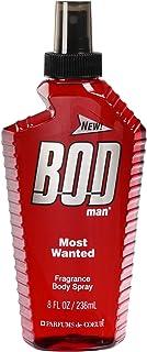 BOD Man Most Wanted 8oz Fragrance Body Spray