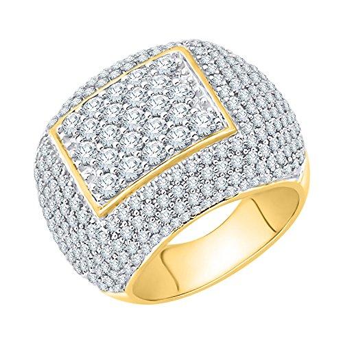 KATARINA Anillo de aniversario de diamantes en oro de 14 K (2 3/4 cttw, J-K, SI2-I1)