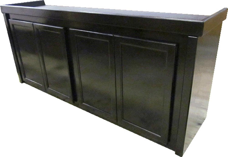 Fish & Aquatic Supplies Birch Series Cabinet Stand Black 72X18x30&Quot;