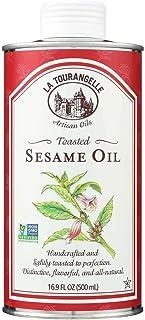 La Tourangelle Roasted Sesame Oil, 16.9 Ounce - 6 per case.