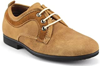 Little Toddler Boys I-77057 Round Toe Lace Up Derby Oxfords Dress Shoes
