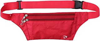 White Cloud Ultrathin Casual Outdoor Sport Polyester Stealth Small Running Travel Waist Fanny Bag Pack