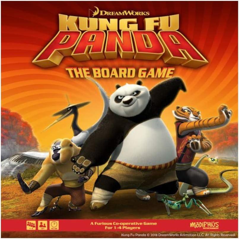 13. Kung Fu Panda (Boxed Board Game)