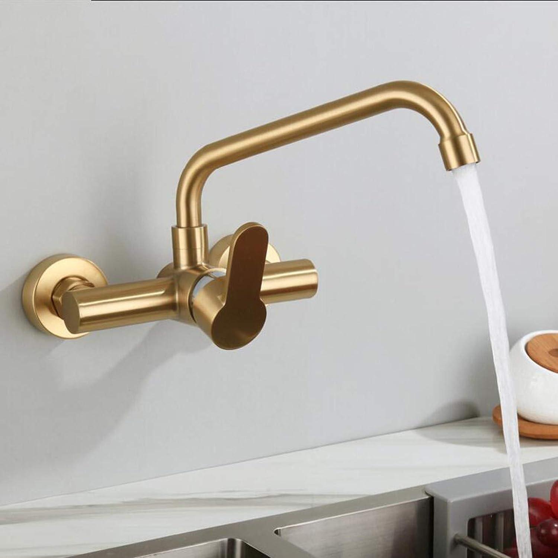 WZF Armaturen Küchenwand in der Küche mit heiem und kaltem Wasser Ziehhahn Goldmessing Alle Teile Balkon Wsche Wsche Vampate di Valle B.