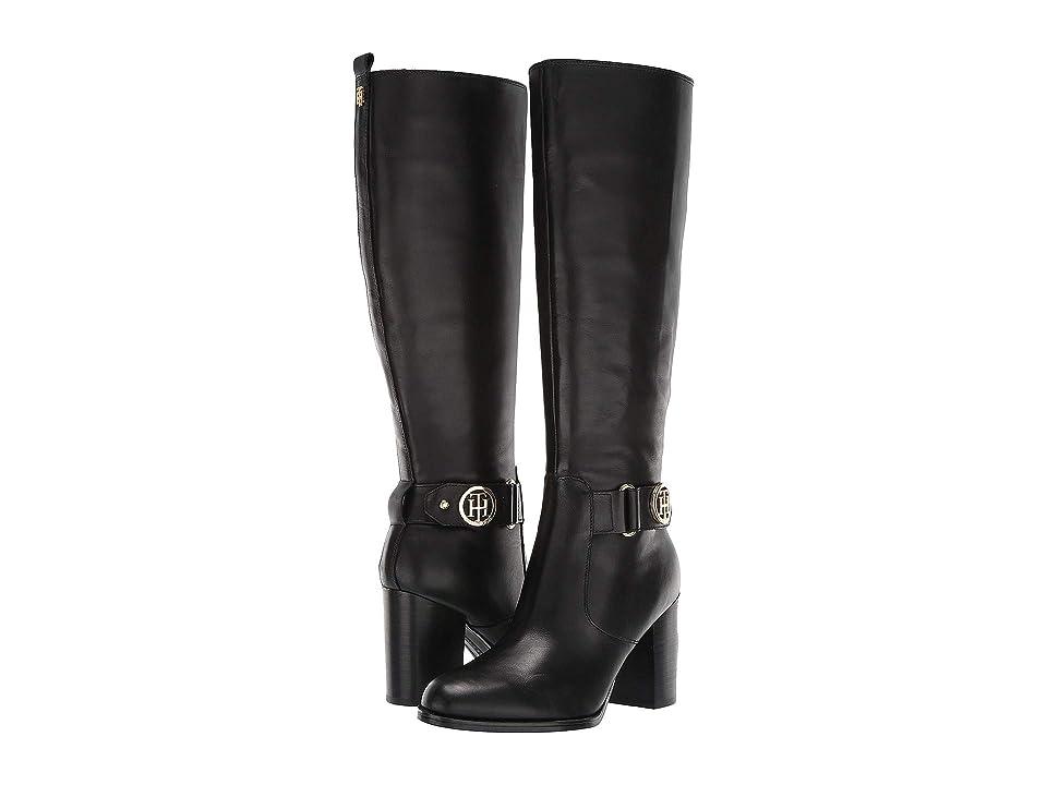 641dd6846 Tommy Hilfiger Deeanne (Black Leather) Women s Boots