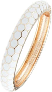 Vintage Bracelet Colorful Geometric Block Cloisonne Jewelry Gift Women Girls Hinge Enameled Bangles 55A44