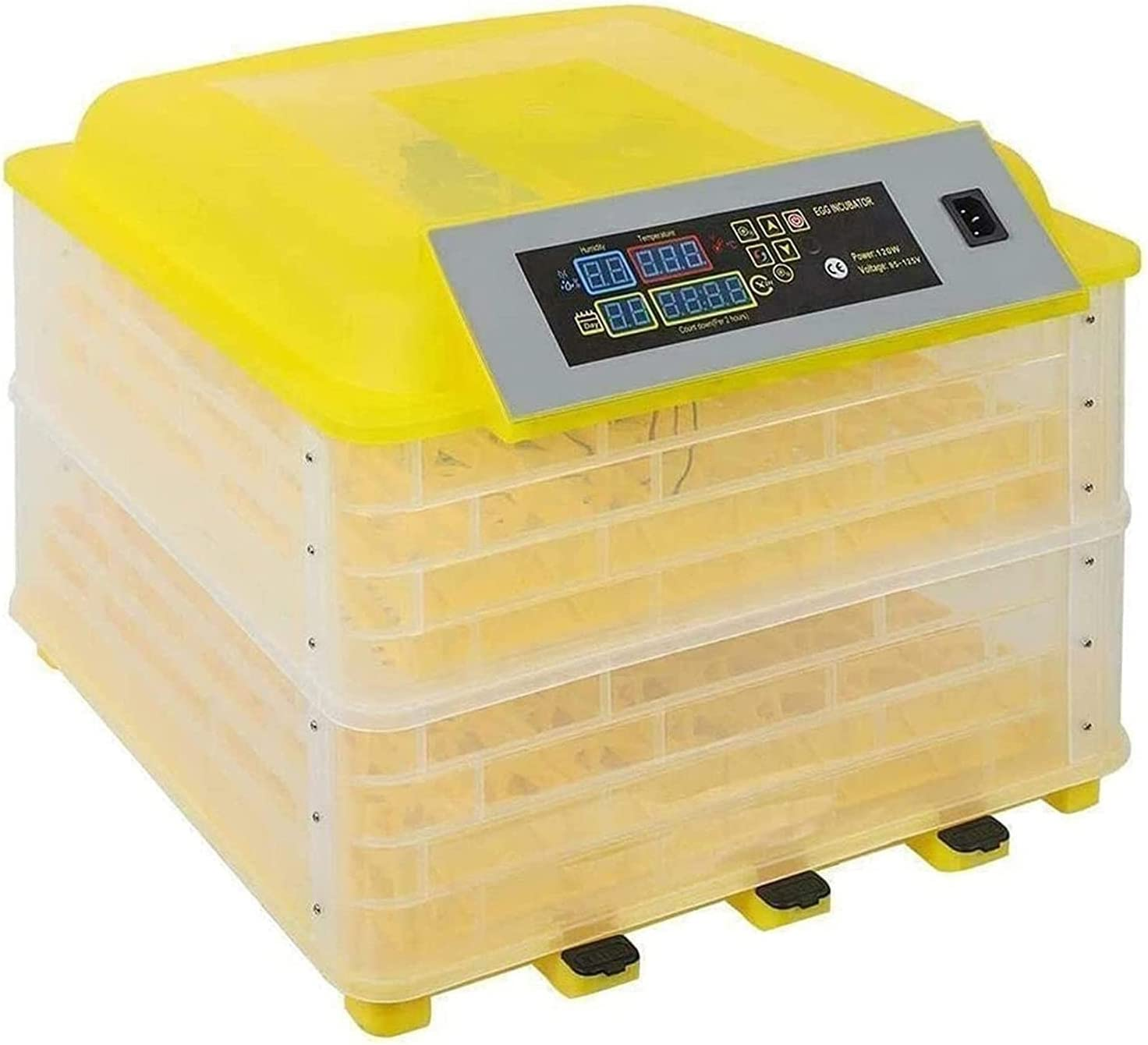 WENZHE Egg Incubator 112 Eggs Factory outlet Digital Fully Automatic Spasm price Poultry Ha