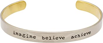 Inspired Goods Peace in Many Languages Cuff Bracelet
