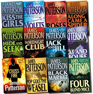James Patterson Collection Pack: Cross Fire, Black Market, Jack and Jill, Kiss the Girls, Along Came a Spider, Rose are Re...