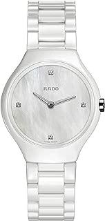 Rado Women's White Dial Color Ceramic Band Watch - R27958902