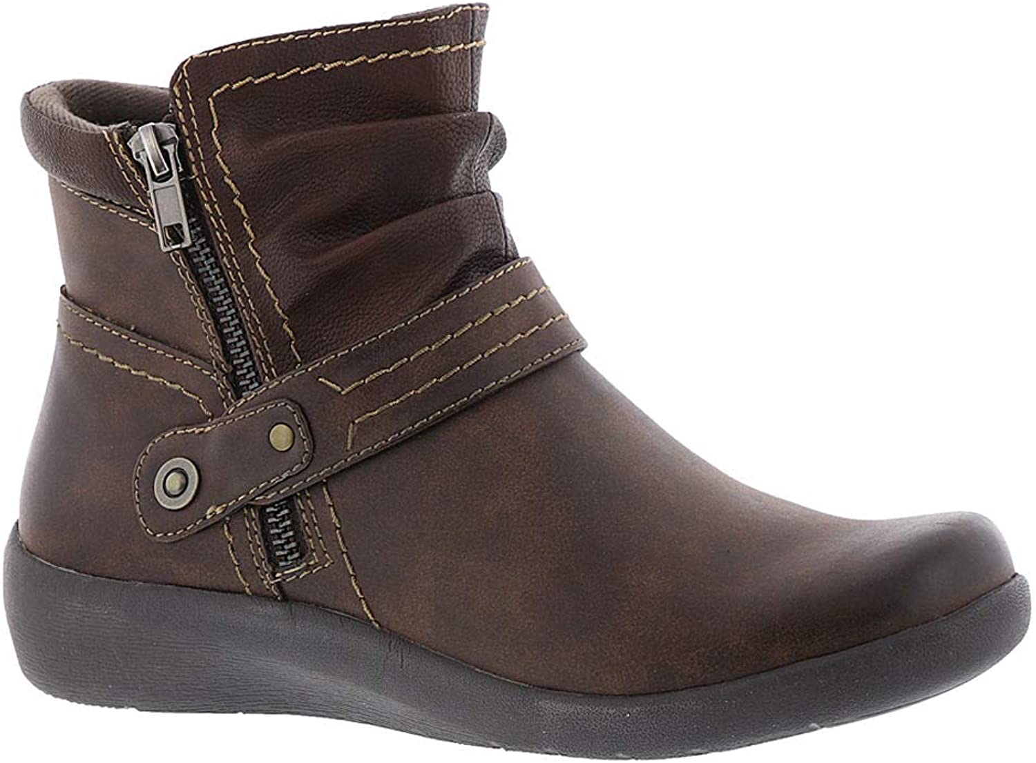 Earth Origins Lilly Women's Boot 7 2A(N) US Chestnut-Chocolate