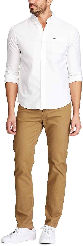 Chaps Men's Big & Tall Big and Tall Classic Fit Stretch Oxford Shirt