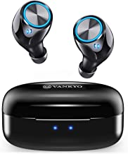 VANKYO Wireless Earbuds X180 in-Ear Bluetooth 5.0 Earphones for iPhone Android with USB-C Charging Case, IPX7 Waterproof Sport Headphones with Mic, Touch Control for Gym, Home, Office, Single/Twin