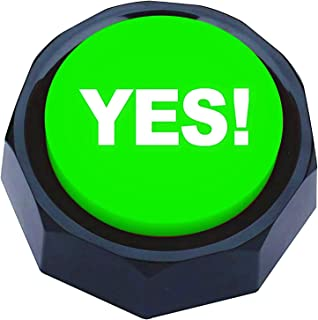 RIBOSY YES Sound Button - Different Yes Saying for Game (Battery Included)