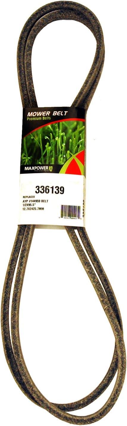Rubber 25 Length 3VX Belt Cross Section D/&D PowerDrive H435937 CASE IH Replacement Belt