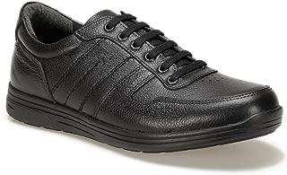 RIVEZ 9PR Siyah Erkek Ayakkabı