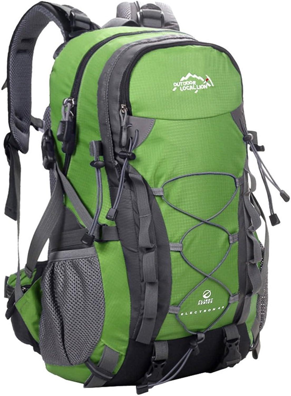 Outdoor Travel Hiking Backpack School Rucksack Climbing Bag For Men Women (color   4)