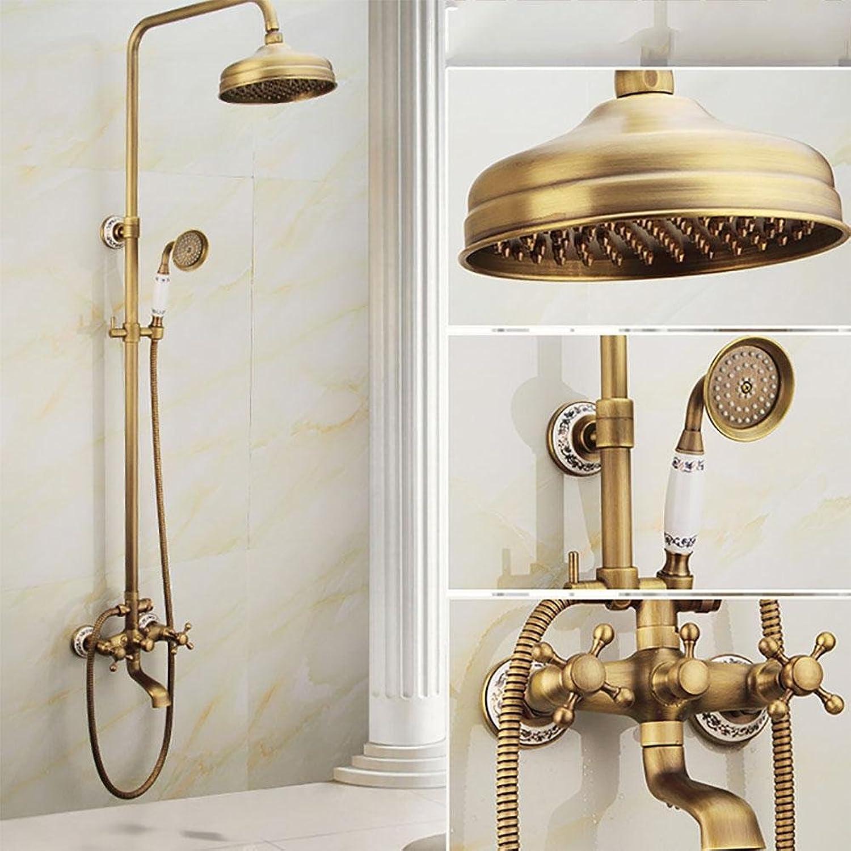 Shower set set set Kevin Messing Bad Armaturen Wand ...