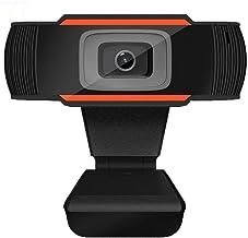 APSONAR Webcam PC Full HD 720P con Micrófono, Webcam Portátil para PC, Webcam USB 2.0, Streaming Cámara Reducción de Ruido para Videollamadas, Grabación, Conferencias con Clip Giratorio