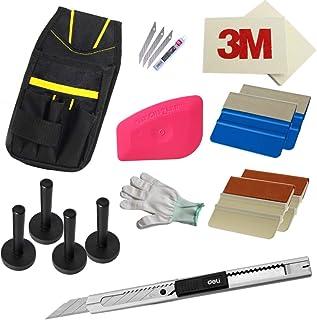 folimac Werkzeugtasche Magnet Rakel Folienmesser Handschuh Profi Folierung Rakel Set M26