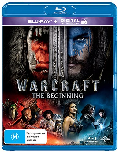 Warcraft [Blu-ray + Ultra Violet] [NON-USA Format / Region B Import - Australia]