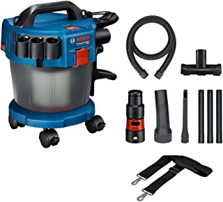 Bosch Professional 06019C6302 System Gas 18 V-10 L Industrial Dust Extractor (Excluding Rechargeable Battery, 1.6 m Hose, ...