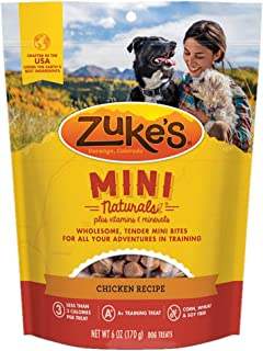 Zukes Mini Naturals Dog Treats Chicken 1 Lb