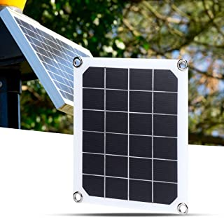 Suchinm 10W Portable Solar Panel Charger Polysilicon Charging Board for Phone Power Bank Outdoors Camping
