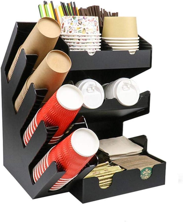 HIZLJJ Ranking TOP13 Coffee Station 2 Piece Condiment Organizer lowest price A Combo