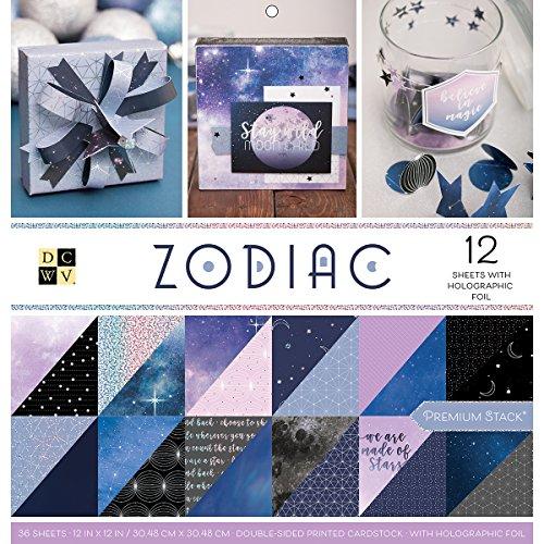 DCWV Zodiac Stack de papeles 30x30cm -