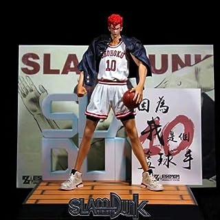 QTRT Slam Dunk Giocatore di Basket No. 10 Hanamichi Sakuragi PVC del Fumetto del Anime Gioco Carattere di Modello Statua F...