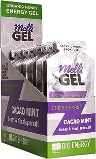 Sponsored Ad – MelliGel Cacao Mint Organic Honey Sport Gel 32 g, Box of 12