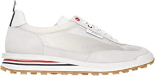 THOM BROWNE Luxury Fashion Uomo MFD180C07685100 Bianco Altri Materiali Sneakers | Ss21
