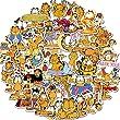 TTBH Garfield Sticker Cartoon Stickers Anime Stick