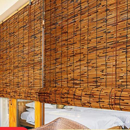 Bambusrollo Premium-Rollläden Für Den Innen- Und Außenbereich, Patio/Pavillon/Pergola/Carport-Sonnenschutz (Size : 100 * 200Cm),100 * 250cm