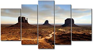 5 Panel Wall Art Painting Earth Desert Arizona Pictures Prints On Canvas Landscape The Picture Decor Oil For Home Modern Decoration Print