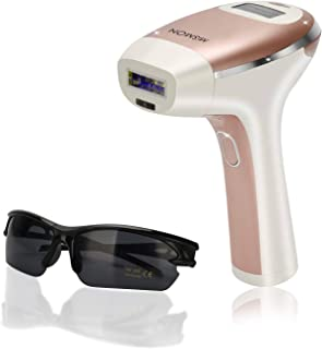 Laser Hair Removal for Woman and Men, Permanent Hair Removal 300,000 Flashes Home Use Hair Remover Device for Bikini, Face...