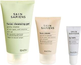 SKIN SAPIENS Face Care Set For Sensitive Skin, Ecocert