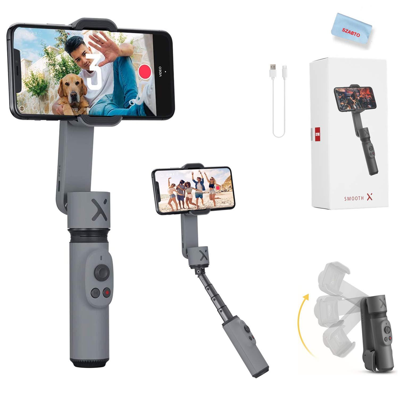 Zhiyun Smooth X Smartphone Estabilizador de Cardán para iPhone 11 Pro Xs Max Xr X 8