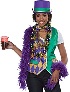 Mardi Gras Woman Adult Costume Kit-
