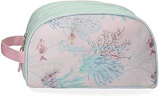 Ariel - Neceser con dos compartimentos, 26 cm, Multicolor