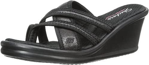 Skechers Women's Rumblers Wedge Sandal