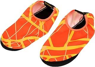 joyMerit Hommes et Femmes Peau Aux Pieds Nus Chaussures Anti-dérapant Multifonctionnel sans Lacet Chaussures d'eau Chausse...