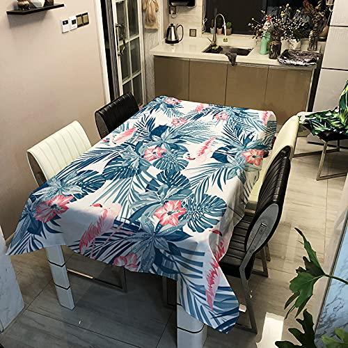 Mantel De Animal Rosa Minimalista Moderno Mantel Impermeable Engrosado A Prueba De Aceite Y Escaldado Adecuado para La Mesa De Comedor del Hotel En Casa Mesa De Centro Mantel Individual